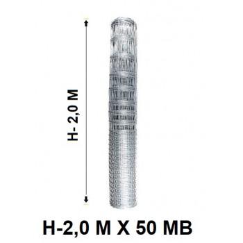 Siatka Ogrodzeniowa Rolno Leśna Light wys. 2 m x 50 mb