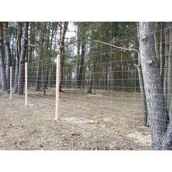 Siatka Ogrodzeniowa Rolno Leśna Max Gęsta wys. 1,6 m x 50 mb #4