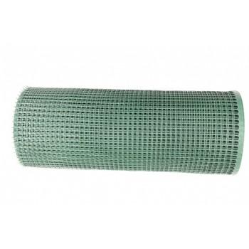 Siatka Ogrodzeniowa Plastikowa, Oczko 15x15mm, H-0,6m x 25mb #2