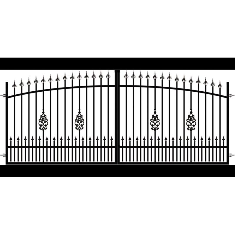 Brama Ogrodzeniowa Skrzydłowa Klasyczna Typ EZ H-140-160 cm