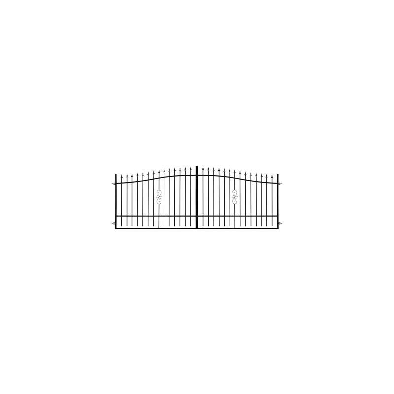 Brama Ogrodzeniowa Skrzydłowa Klasyczna Typ TUNIS H-130-150 cm