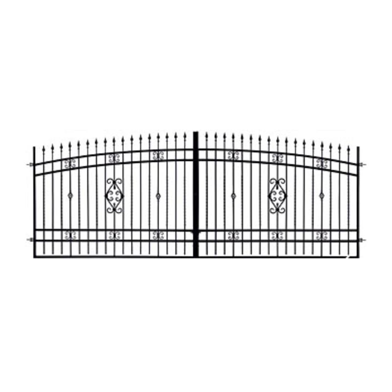 Brama Ogrodzeniowa Skrzydłowa Klasyczna Typ Wenecja H 1,40-1,60 m