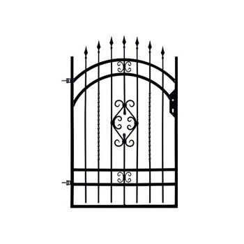 Brama Ogrodzeniowa Skrzydłowa Klasyczna Typ Wenecja H 1,40-1,60 m #2