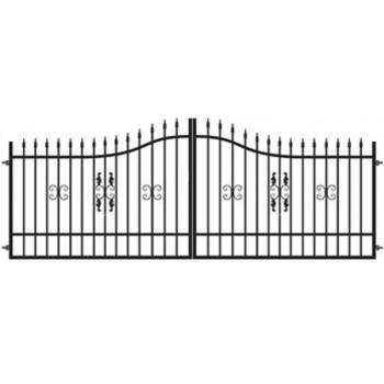 Brama Ogrodzeniowa Skrzydłowa Klasyczna Typ MILORD H 1,20-1,50 m