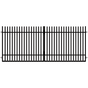 Brama Ogrodzeniowa Skrzydłowa Klasyczna Typ K H-150 cm