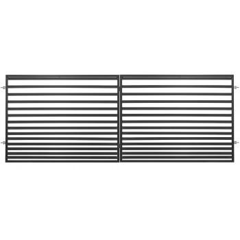 Brama Ogrodzeniowa Skrzydłowa Nowoczesna Typ LIZBONA II H 1,50 m Ral 9005