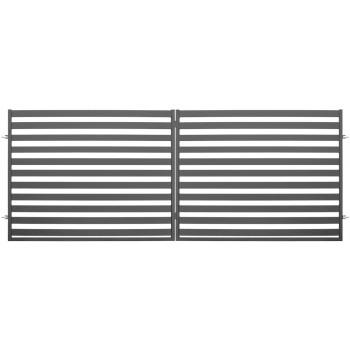 Brama Ogrodzeniowa Skrzydłowa Nowoczesna Typ Dubaj H 1,54 m