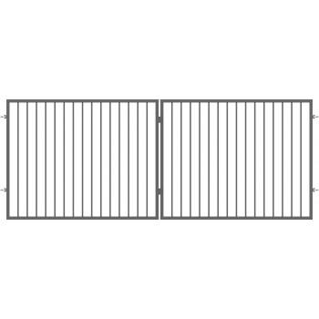 Brama Ogrodzeniowa Skrzydłowa Nowoczesna Typ BAKU H 1,50 m
