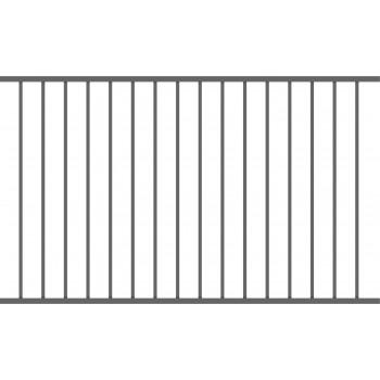 Brama Ogrodzeniowa Skrzydłowa Nowoczesna Typ BAKU H 1,50 m #3