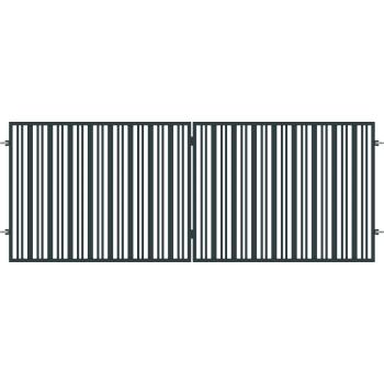 Brama Ogrodzeniowa Skrzydłowa Nowoczesna Typ SEUL H 1,50 m