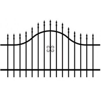 Furtka Ogrodzeniowa Tradycyjna Klasyczna Typ ECO  H 1,20-1,50 m #3