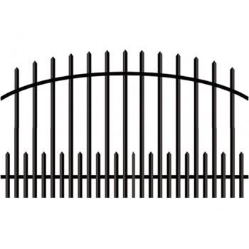 Furtka Ogrodzeniowa Klasyczna Zagęszczona Typ KŁZ H 145 cm-160 cm #5