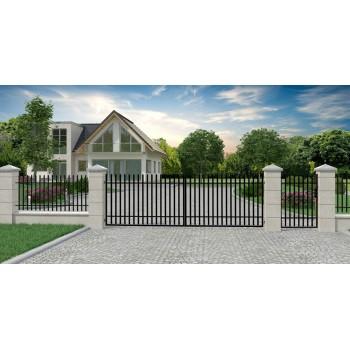 Brama Ogrodzeniowa Skrzydłowa Klasyczna Typ K H-150 cm #6