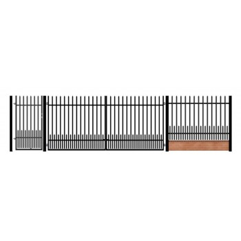 Brama Ogrodzeniowa Skrzydłowa Klasyczna Typ Kpz H-150 cm #6