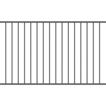 Przęsło Ogrodzeniowe Nowoczesne Typ BAKU H-1,20 m Ral 7016