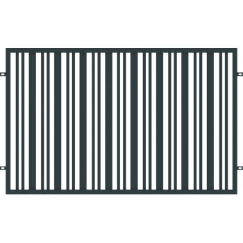 Przęsło Ogrodzeniowe Nowoczesne Typ SEUL H-1,20 m Ral 7016