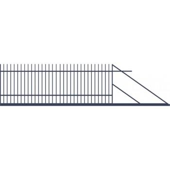 Brama Ogrodzeniowa Przesuwna  Nowoczesna Typ HAWANA H-150 cm