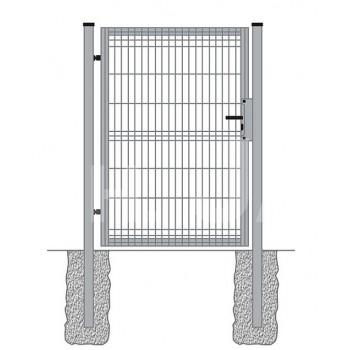Furtka Ogrodzeniowa Panelowa Ocynk H- 1,23 m #2