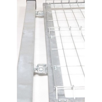 Furtka Ogrodzeniowa Panelowa Ocynk H- 1,23 m #6