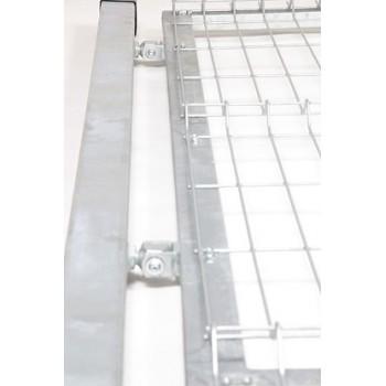 Furtka Ogrodzeniowa Panelowa Kompletna Ocynk Wys. 1,03 m #5