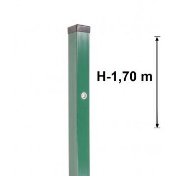 Słupek Furtkowy Light 60x40 mm Kolor , Wys. 1,70 m