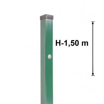 Słupek Furtkowy Light 60x40 mm Kolor, Wys.1,50 m