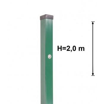 Słupek Furtkowy Light 60x40 mm Kolor Wys. 2,0 m