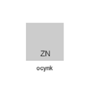 Obejma Panelowa Uniwersalna Typ U Ocynkowana Kompletna #4