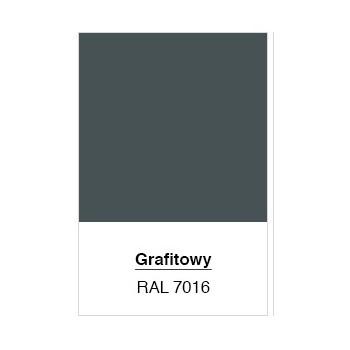 Brama Ogrodzeniowa Skrzydłowa Panelowa 3D Kolor Grafit Ral 7016 H-1,50 m x Szer 4,00 m #3