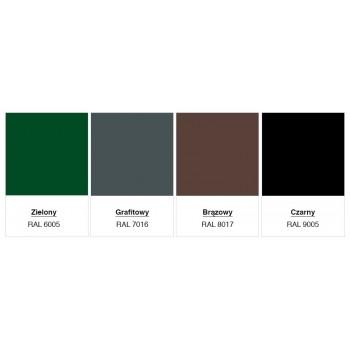 Obejma Panelowa Uniwersalna Typ U Kolor Kompletna #4
