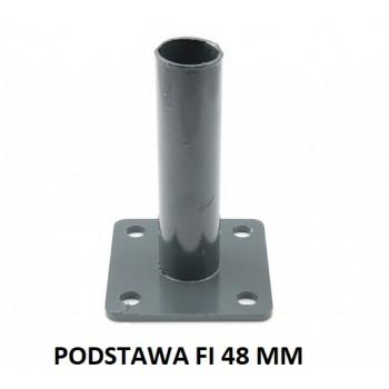 Podstawa Stopka Montażowa Kolor Do Słupka fi 48 mm